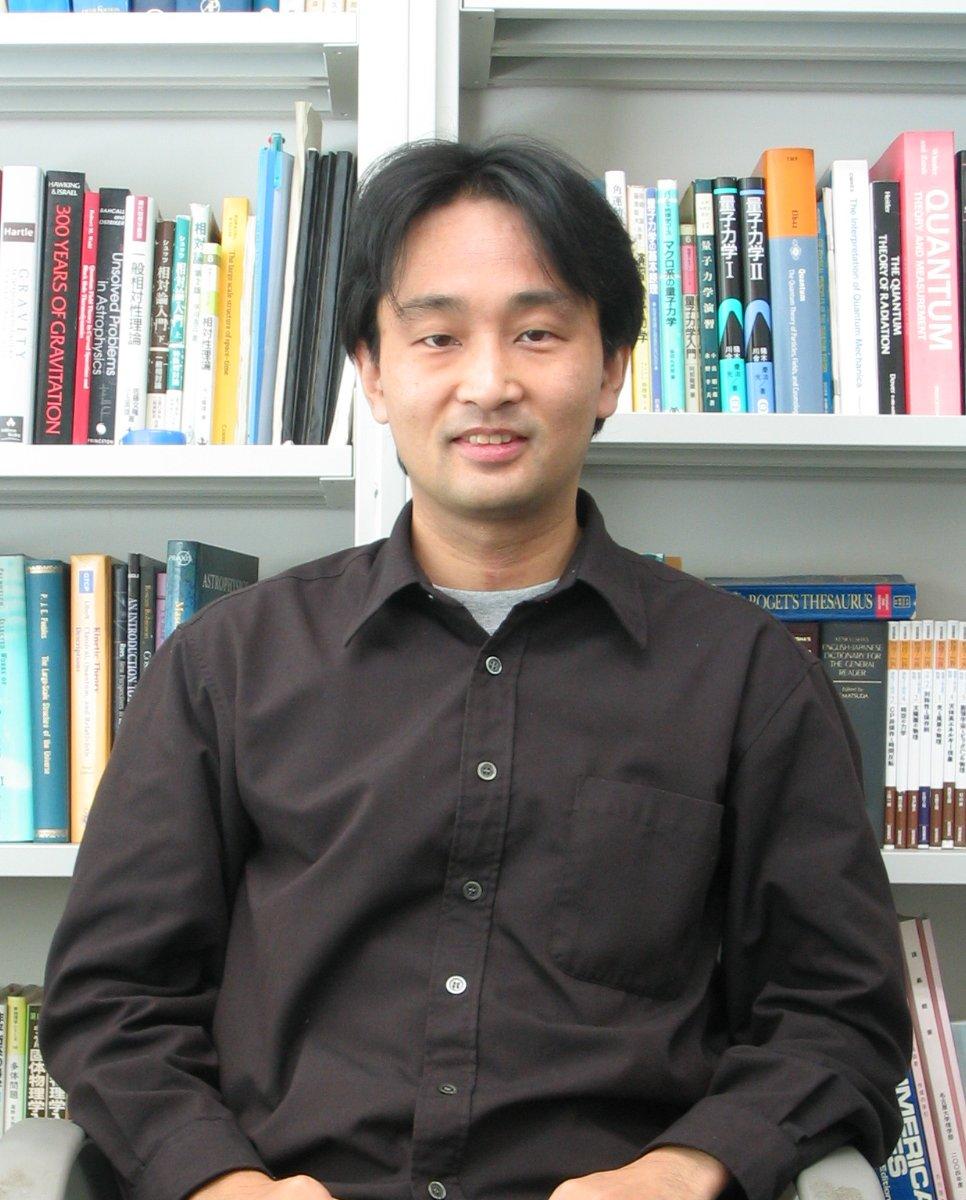 松原 隆彦(理学研究科・准教授) Associate Professo... 松原隆彦 准教授